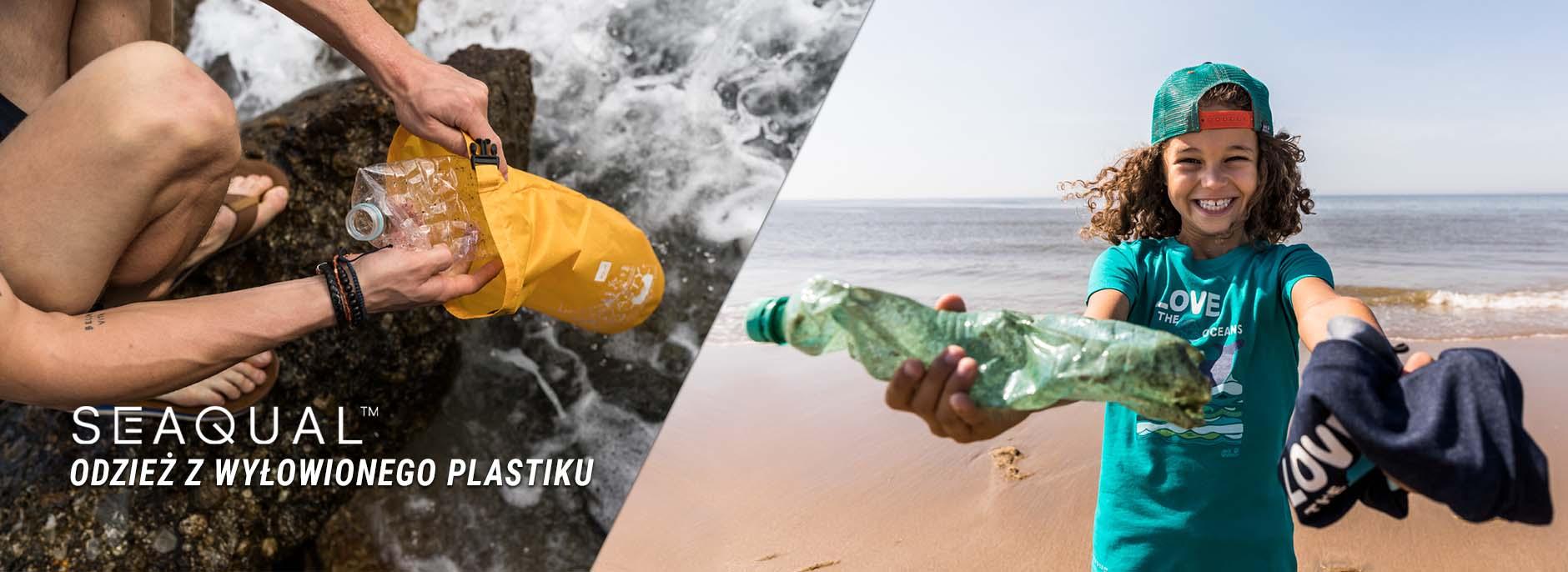 Seaqual - Odzież z Plastiku Wyłowionego z Morza