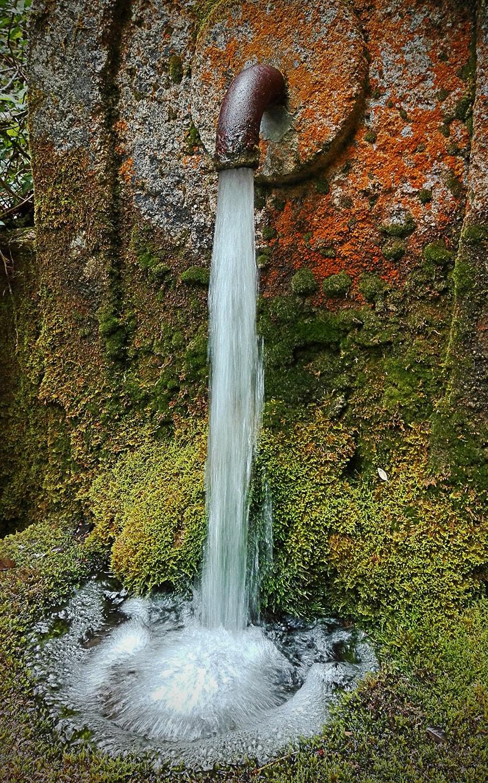 """""""żelazne"""" ujęcie wody pitnej"""