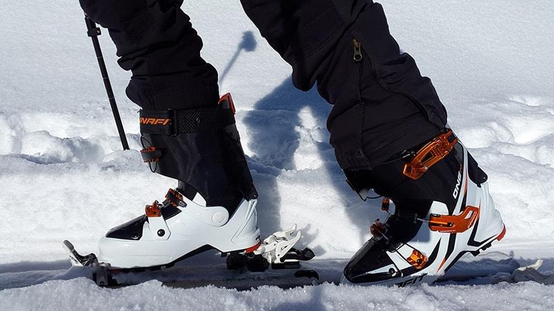 sprzęt do skitouringu - wiązania