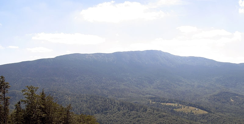 Babia Góra - widok z Mosornego Gronia