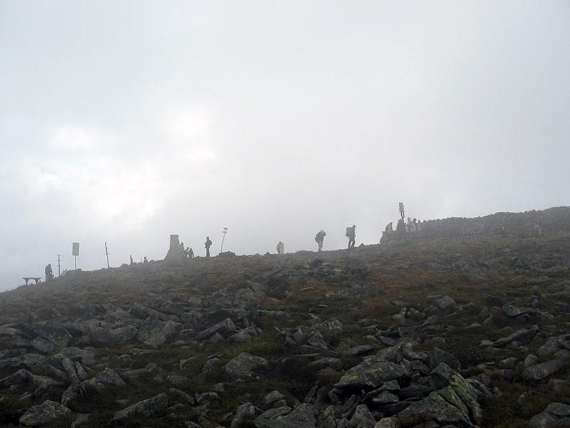 Babia Góra - wierzchołek Diablaka