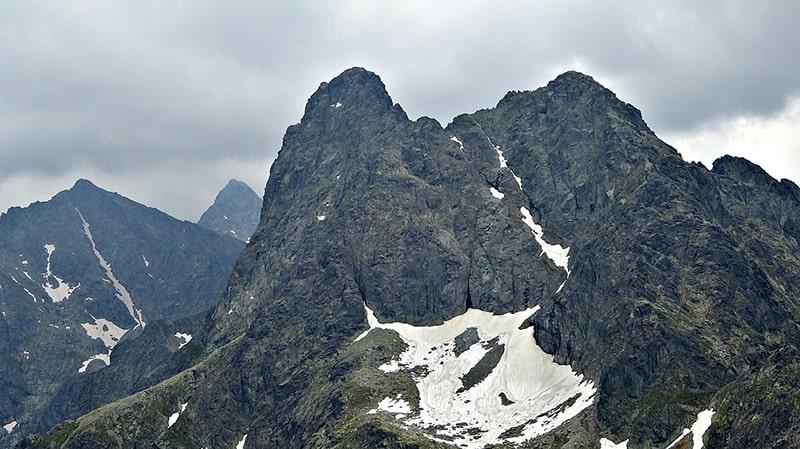 Rysy - najwyższy szczyt w Polsce, wierzchołek