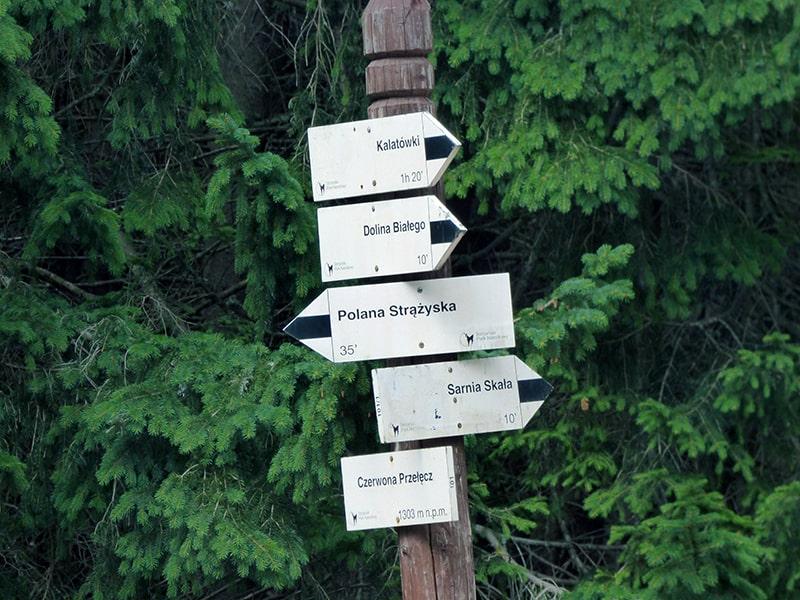 znakowanie szlaków turystycznych