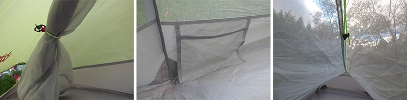 Gossamer|wyposażenie wewnętrzne sypialni