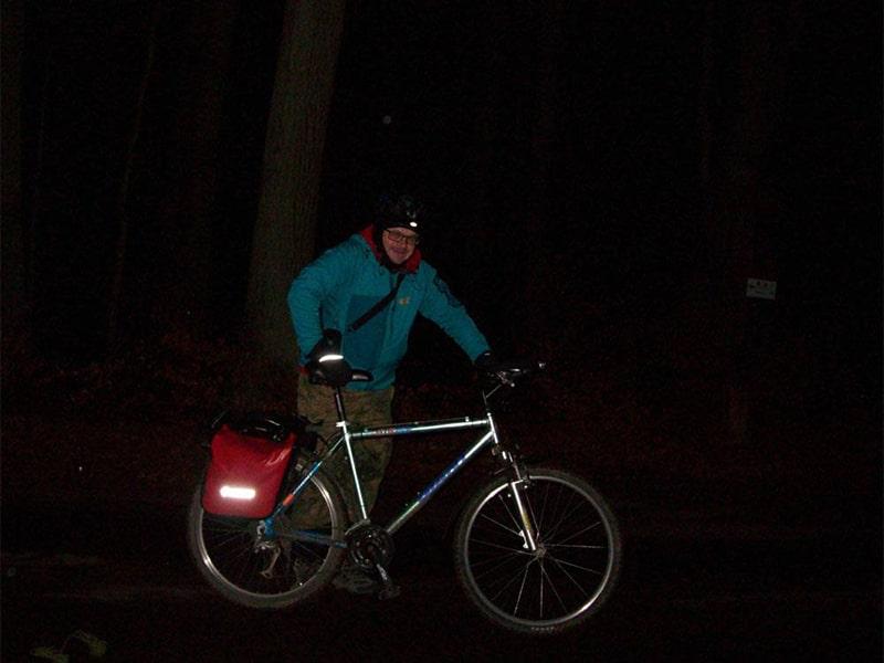 a po pracy... znów na rower