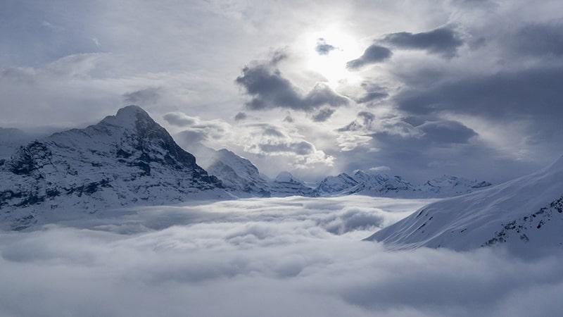 Chmury w Górach Wysokich