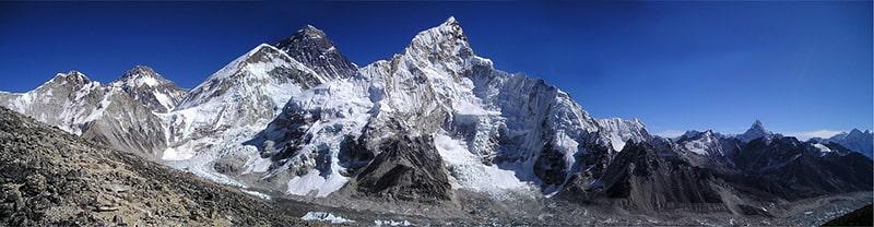panorama Everestu
