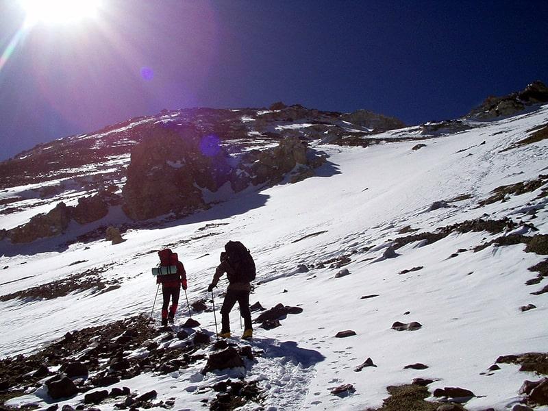 wspinaczka na Aoncaguę