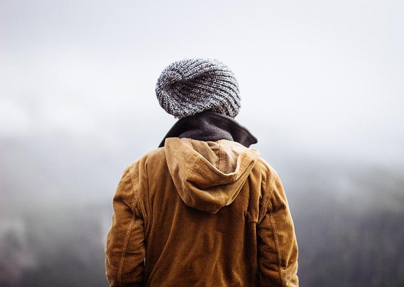 czapka na zimę