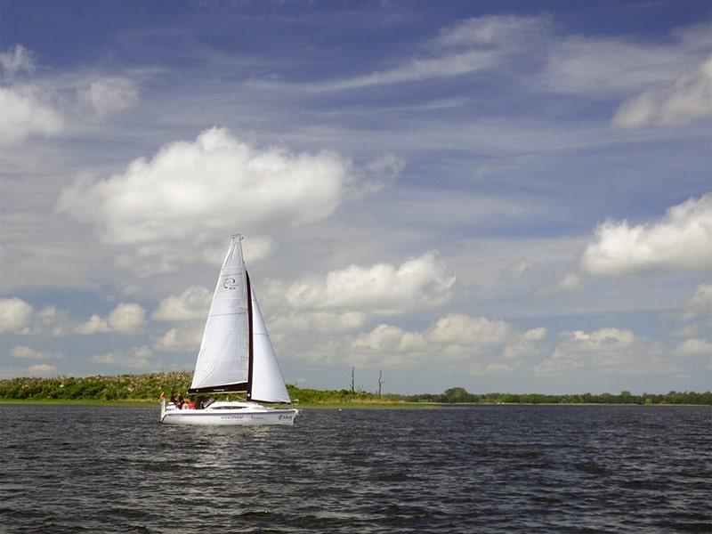 jezioro Dobskie i Wyspa Kormoranów