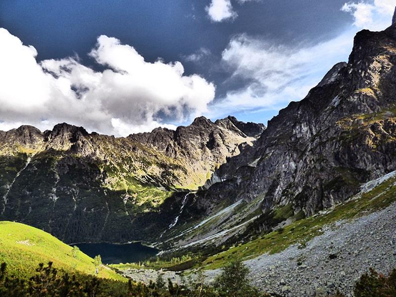 Tatrzański Park Narodowy, Morskie Oko i Rysy