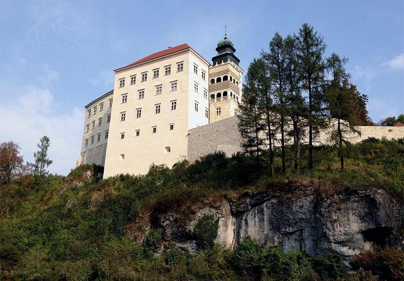 Ojcowski Park Narodowy, zamek w Pieskowej Skale