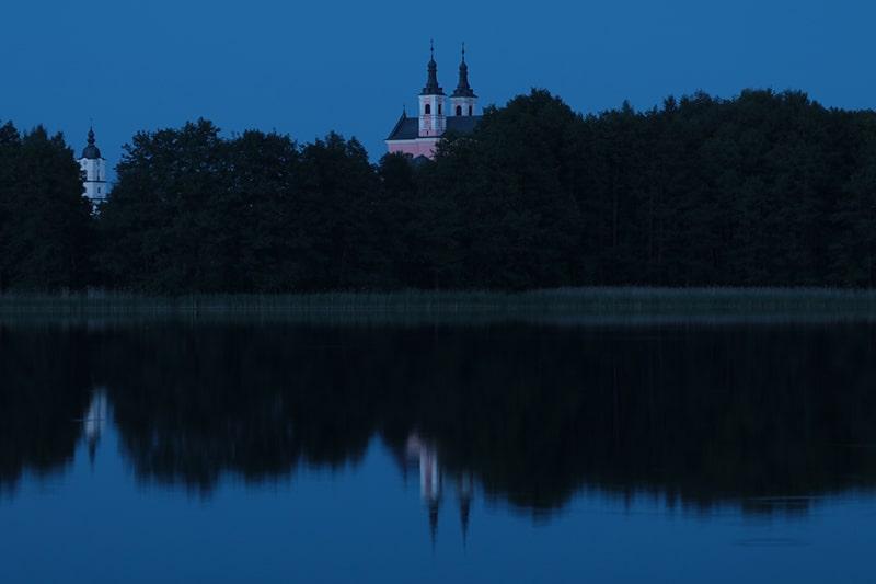 Wigierski Park Narodowy, klasztor w Wigrach