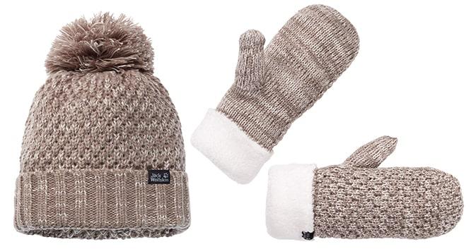 czapka i rękawiczki z serii HIGLOFT KNIT Jack Wolfskin