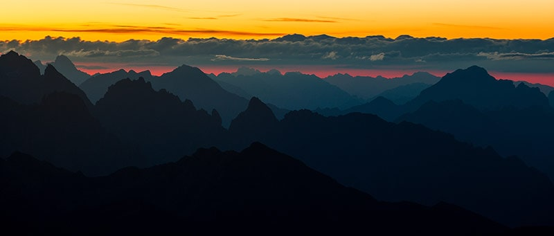 Na szlaku Grand Italian Trail - Alpy