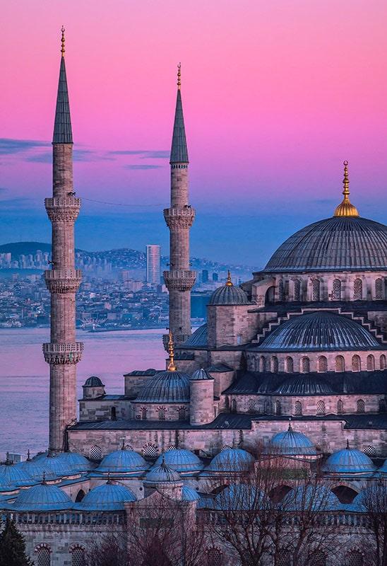 Minaret na sułtańskim szlaku - Stambuł, Hagia Sophia