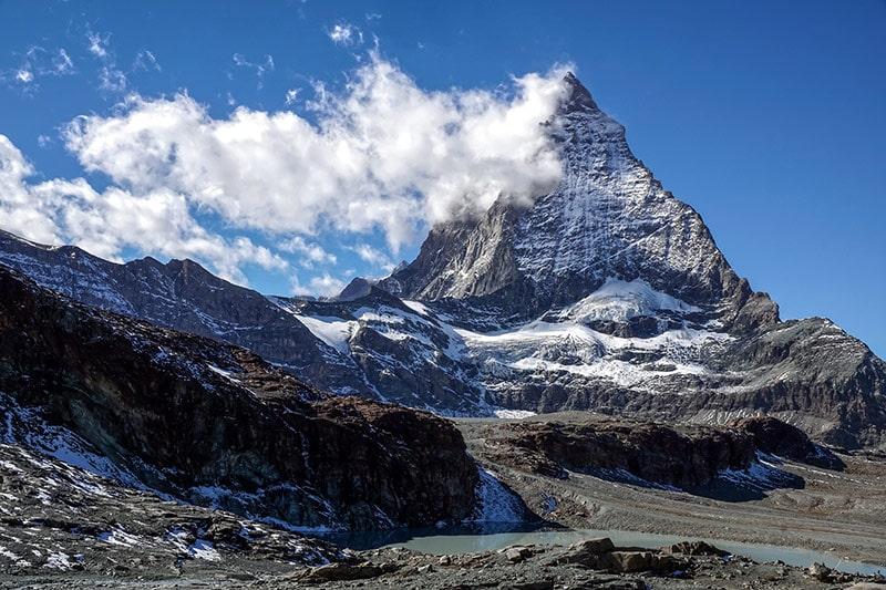 Haute Route - szczyt Matterhornu