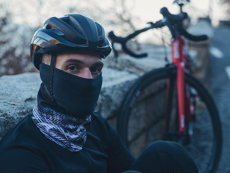 Buff dla rowerzysty