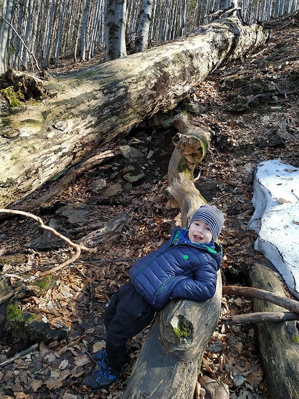 beskid śląski z dziećmi