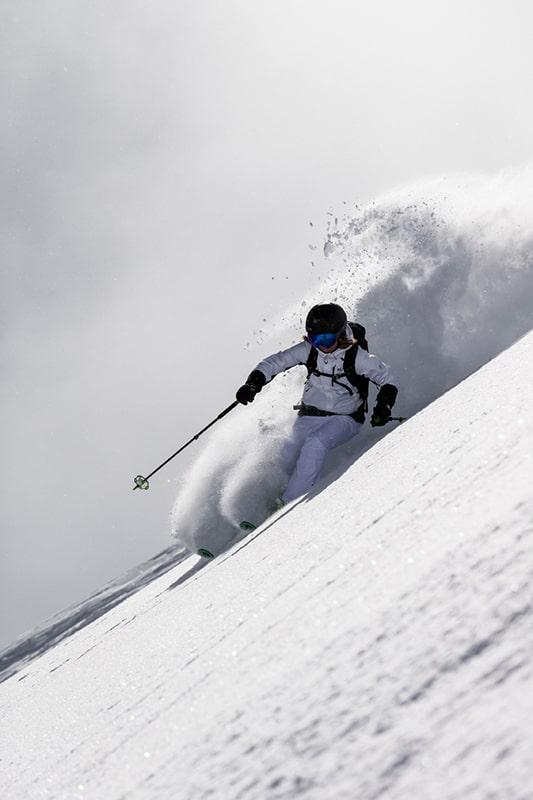 Puchowe narty Salomona, czyli rocker razy dwa