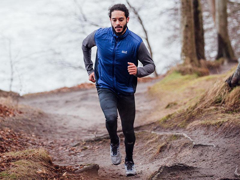 trening biegowy w kamizelce do biegania