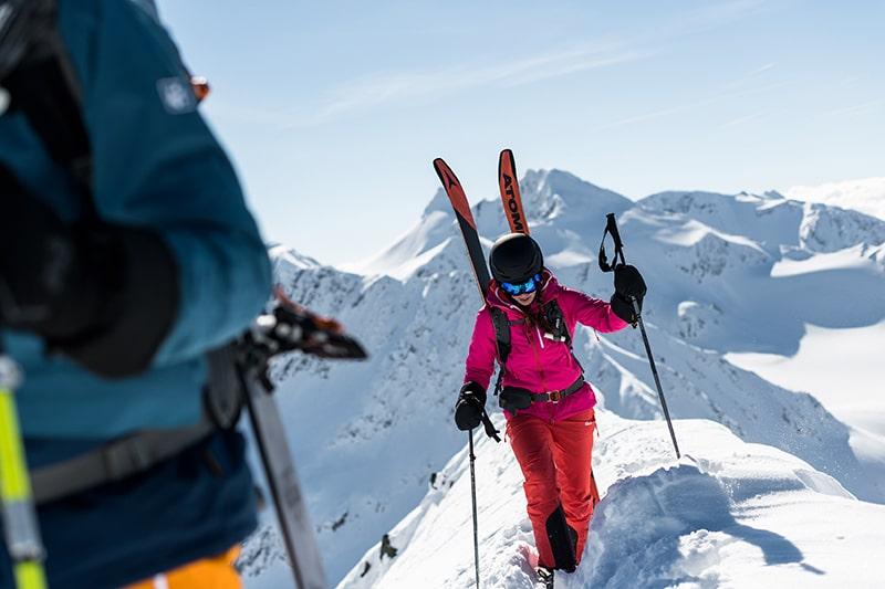 marsz granią z nartami