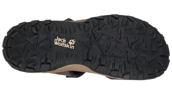 podeszwa sandałów turystycznych Jack Wolfskin Rocky Path