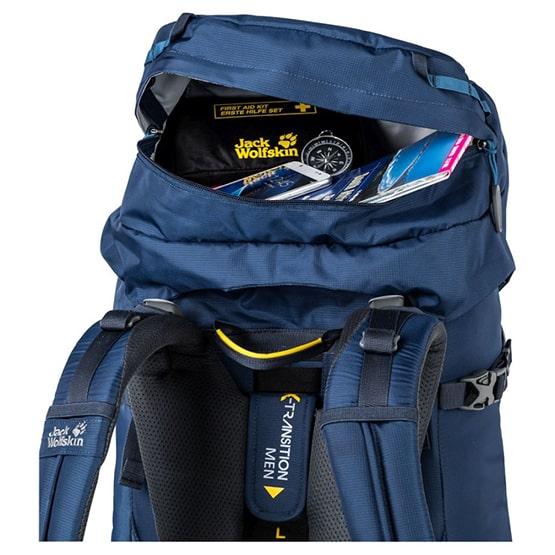 system nośny w plecaku