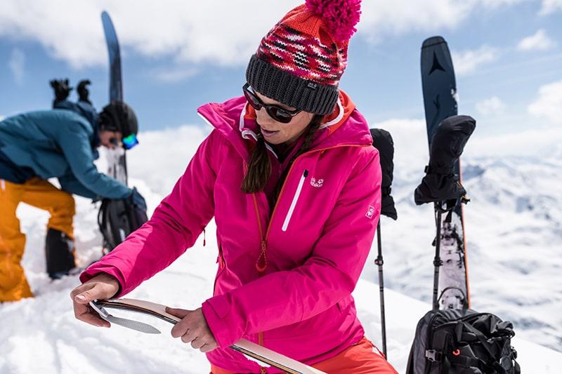 bielizna na nartach