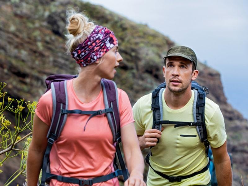 czapki w górach