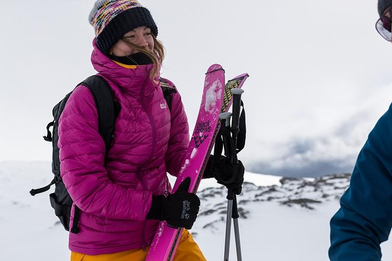 rękawice na skitury