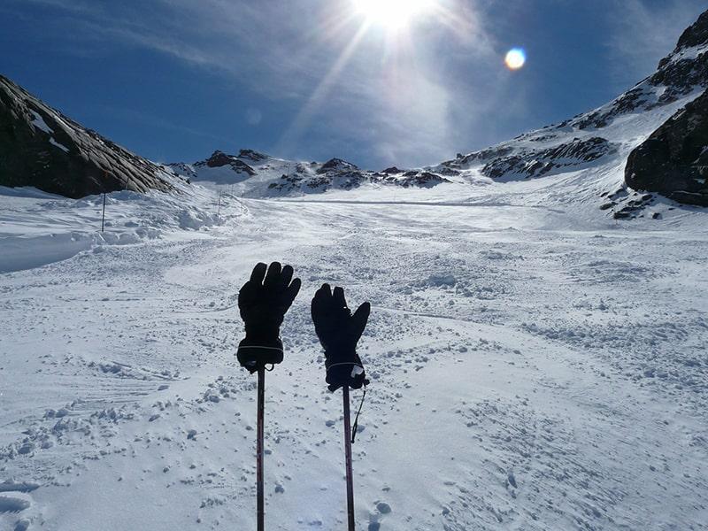 rękawice nieprzemakalne w góry