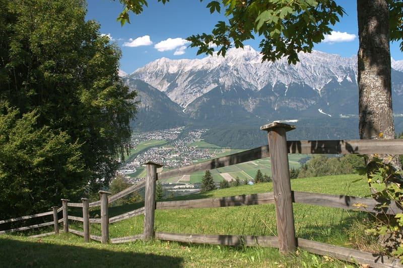 austria góry latem