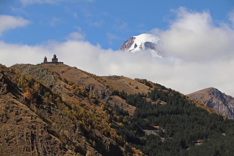 góry w Gruzji