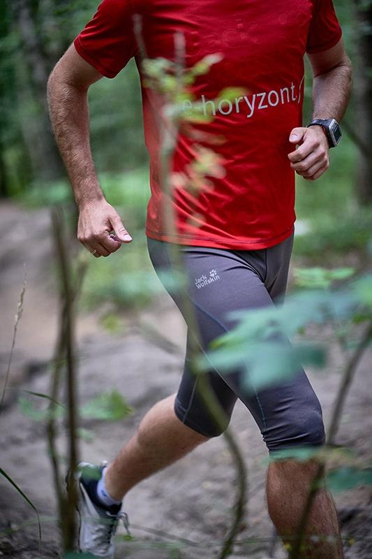 test odzieży i butów biegowych Jack Wolfskin - koszulka Rock Chill Logo