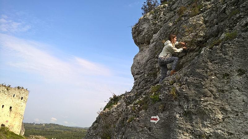 skałki przy Mirowie