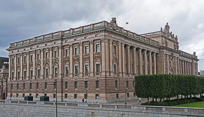 Riksdag – budynek parlamentu Szwecji