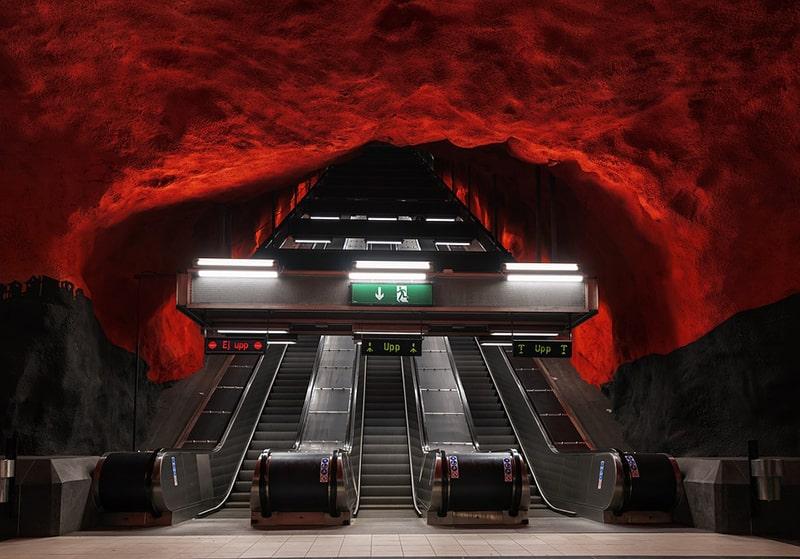 Stacja metra – Solna Centrum