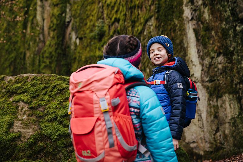 dziecięce plecaki turystyczne