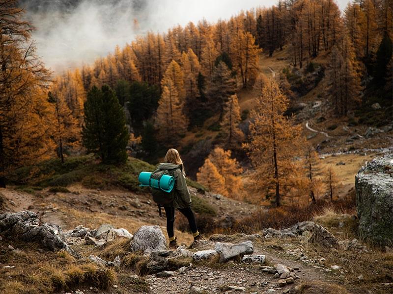 jesienią w górach