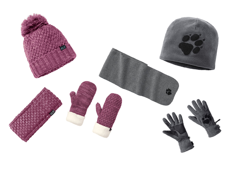 Czapki, szaliki, rękawiczki Jack Wolfskin