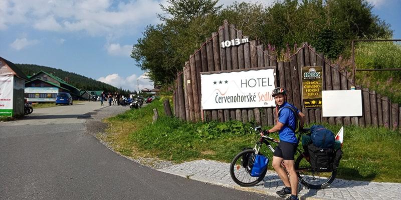 rowerem w Alpy 2