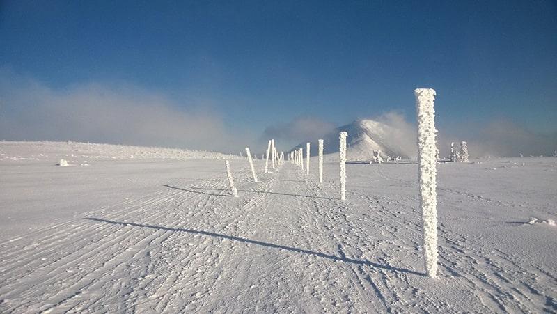 Karkonosze zimą 4