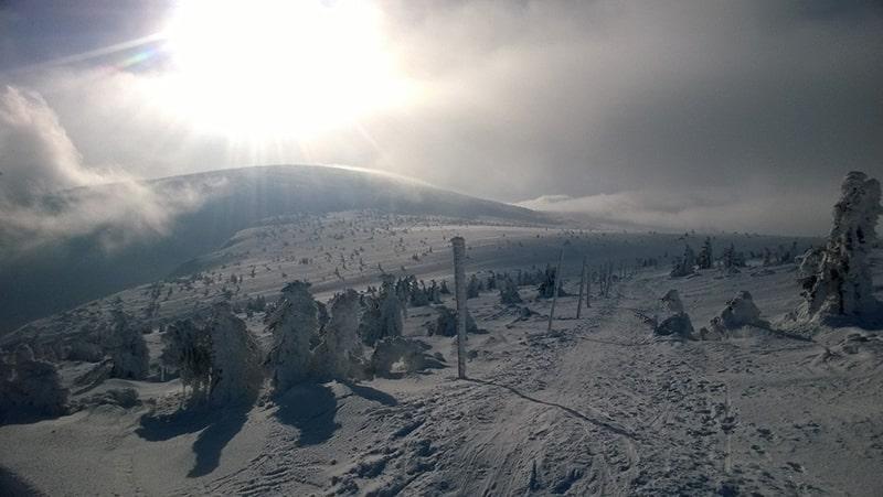 Karkonosze zimą 9
