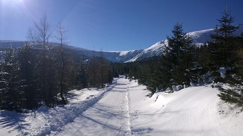 Karkonosze zimą 14