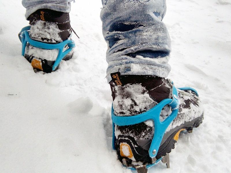 buty w Tatry - zima