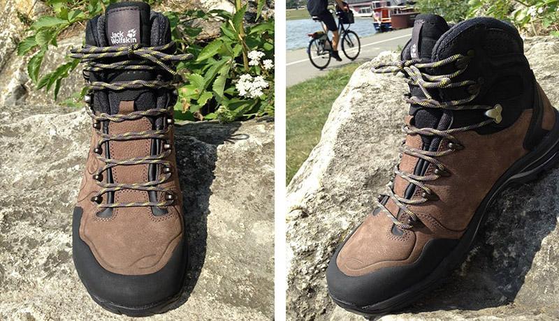 sznurowanie butów w góry