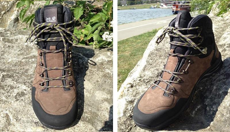 sposób na zawiązanie butów w góry