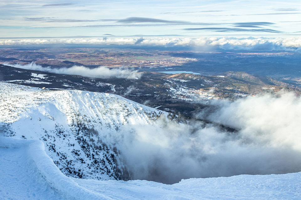 Karkonosze zimą najlepsze szlaki