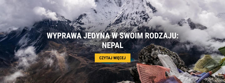 WYPRAWA JEDYNA W SWOIM RODZAJU: NEPAL